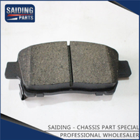 Saiding Genuine Auto Parts 04465-12590 Ceramics Brake Pads for Toyota Corolla 03/2001-07/2008 Zze121 Zze122 3zzfe 1zzfe