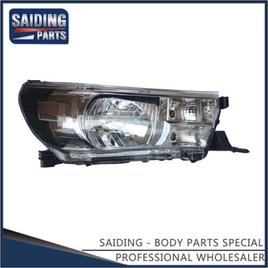 Auto Headlight for Toyota Hilux Gun112 Body Parts 81110-0K660